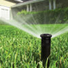 Will an automatic sprinkler system water as well as I do when I water by hand?